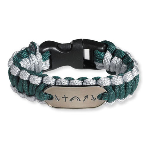 Witness Survival Bracelet - Army Green/Grey (FREE SHIPPING)