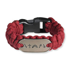Witness Survival Bracelet - Red (FREE SHIPPING)