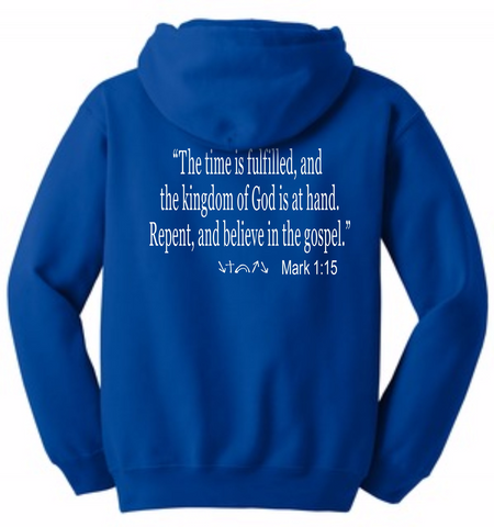 Witness in the Hood w/ Message on Back  (Choose Your Color)