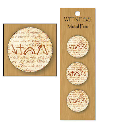 Witness Buttons - Pkg of 12