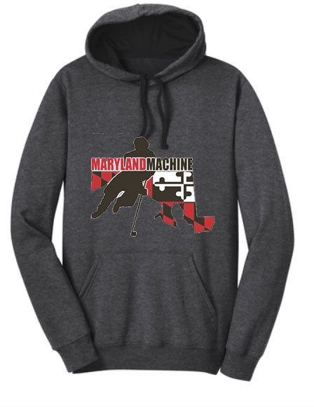 DT810 District The Concert Fleece  Hoodie (ADULT)