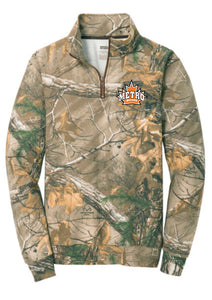 RO78Q Russell Outdoors Realtree 1/4-Zip Sweatshirt