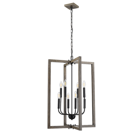 Roxton 8 Light Entry Fixture