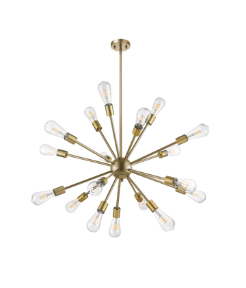 Odyssey 18-Light Sputnik Sphere Chandelier Finish: Matte Gold