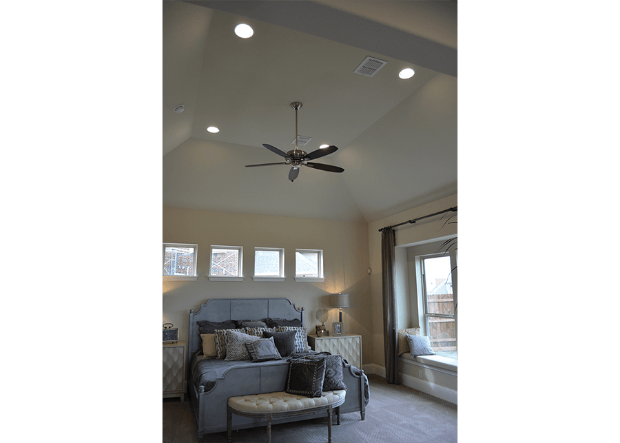 LED Round Flush Mount Ceiling Fixture