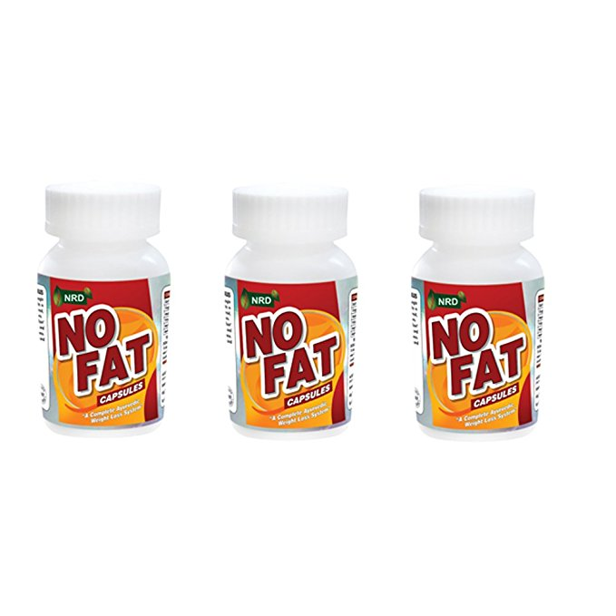 Kayos NRD NO FAT Weight Loss Supplement-Burn Excess Fat and Lose Weight With Natural Weight Loss Ingredients-(Pack of 3 Bottles)(270 Capsules)