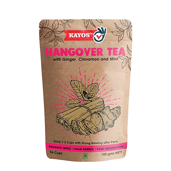 Kayos Hangover Drink for Liver Detox– Hangover Tea to Ease After Party Symptoms (100 gms)