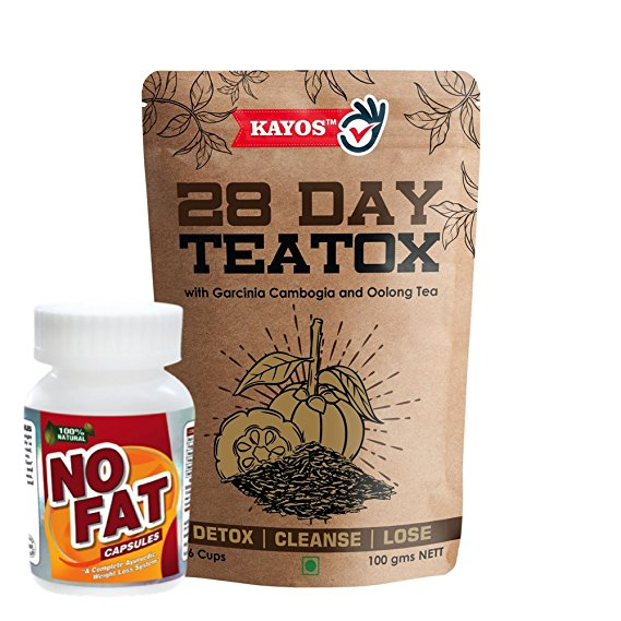 Kayos 28 Day Teatox With No Fat - 100 G (90 Capsules)