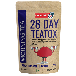 Kayos 28 Day Teatox Morning Tea with Energy Boost & Detox - 50g