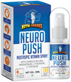 NUTRISHARKS Neuro Push Brain Support Supplement - Nootropic Vitamin Spray with Ginkgo Biloba - 30mL