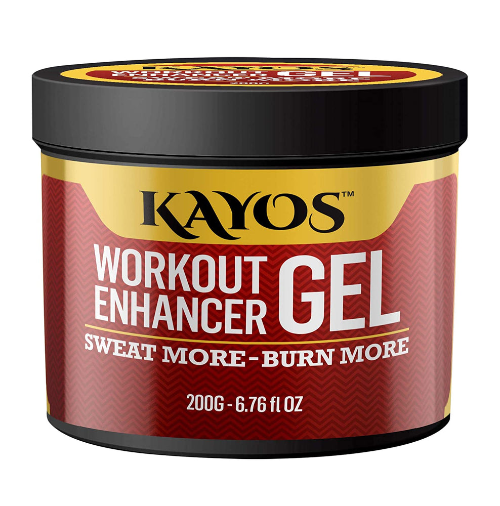 Kayos Workout Enhancer Gel to Sweat More & Boost Cardio Gym Workouts - 200g