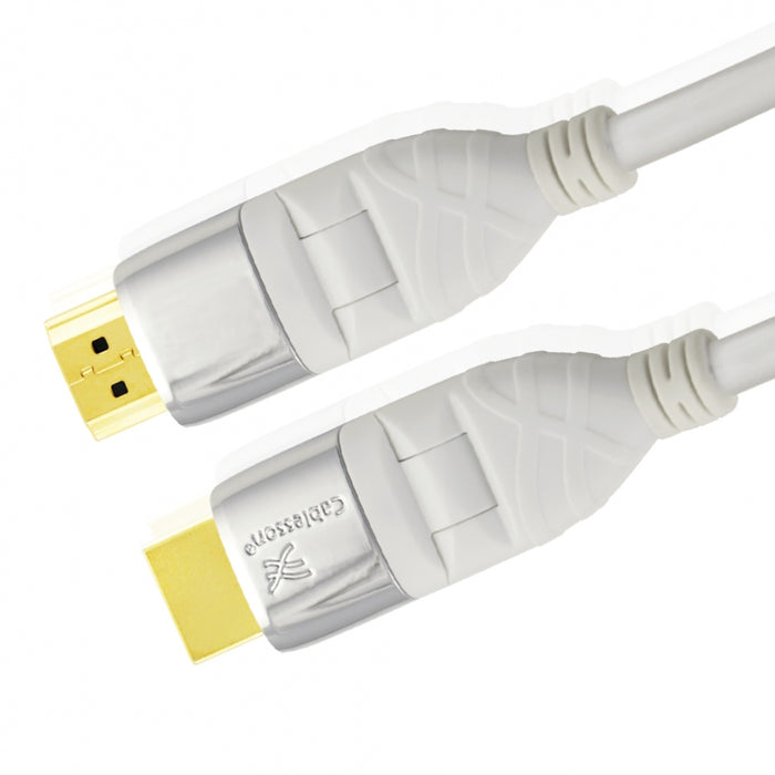 Cablesson Mackuna Flex LATEST Meter HDMI Flexible Cable - 2M - hdmicouk