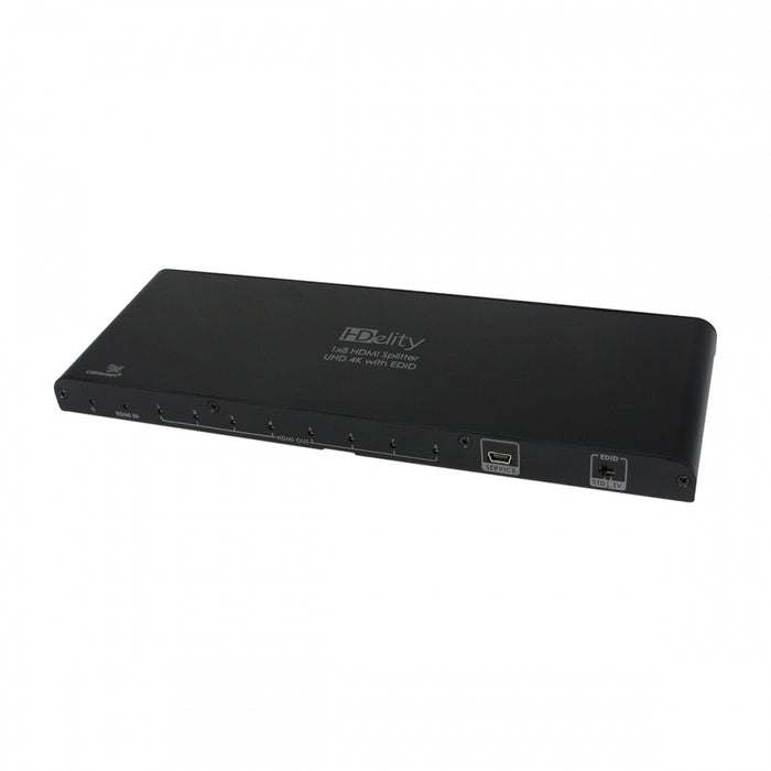 Cablesson 1X8 HDMI 2.0 Splitter WITH EDID -Active amplifier - hdmicouk