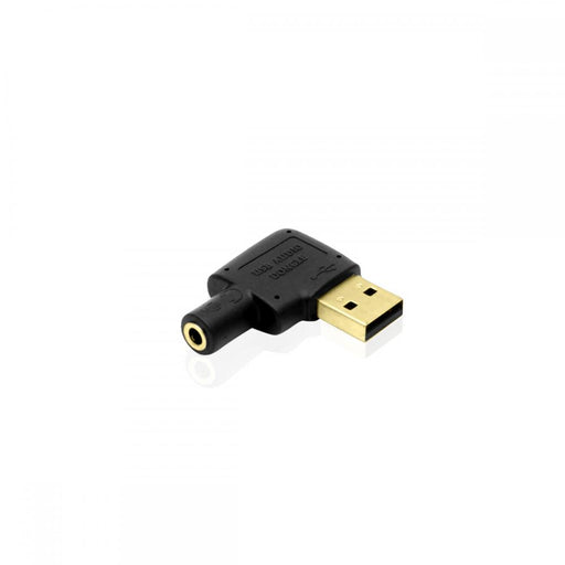 Cablesson USB to Audio Converter (Black ) - Plugable USB Audio Adapter with 3.5mm Jack connector - USB 2.0 (Type-A) - Raspberry Pi, Beaglebone