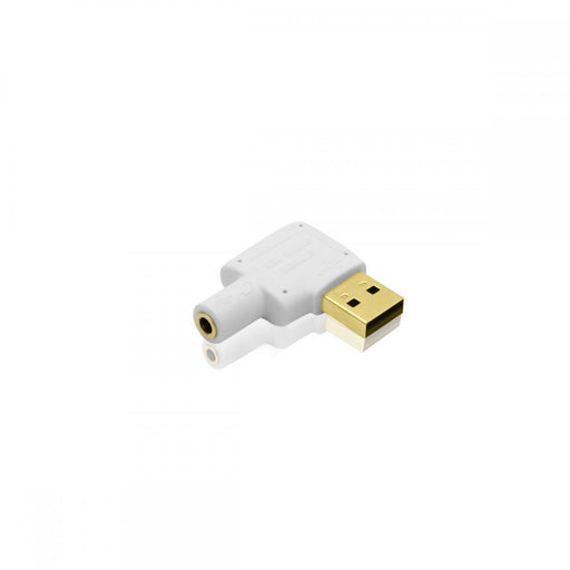 Cablesson USB to Audio Converter (White) - Plugable USB Audio Adapter with 3.5mm Jack connector - USB 2.0 (Type-A) - Raspberry Pi, Beaglebone