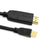 Cablesson 1m Mini Display Port 1.2 to HDMI 2.0 Male Cable Black - hdmicouk
