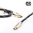 XO Platinum 1m High Speed 4k HDMI Cable Gold - hdmicouk
