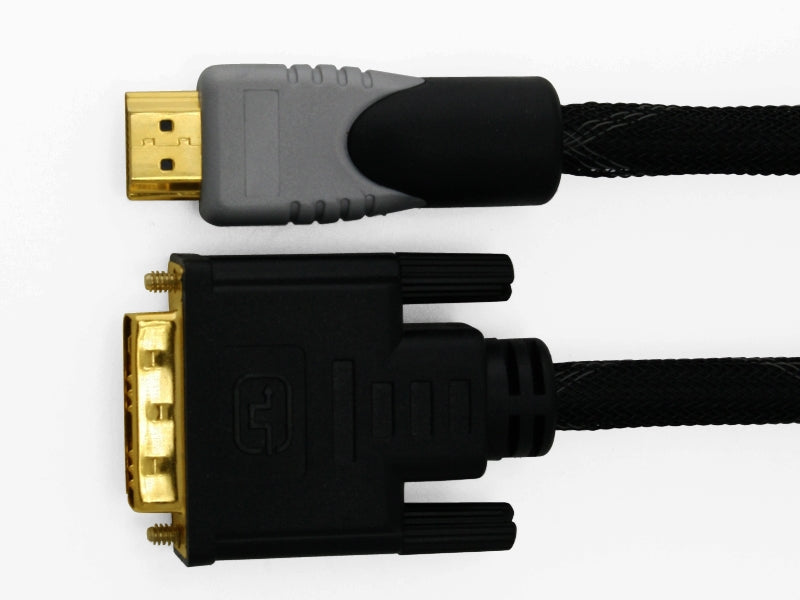 Premium N-Series 4m High Speed DVI to HDMI Cable - 1080p (Full HD) / v1.3 / Video / DVI / 24k Gold Plated - hdmicouk