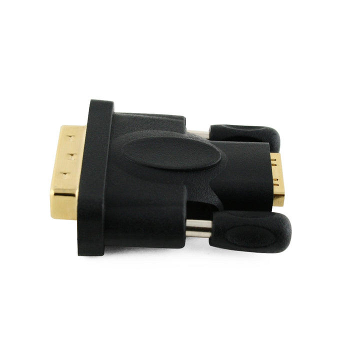 Cablesson HDMI Female to DVI / DVI-D Male Adapter / Converter - Black - Gold Plated - HDMICOUK