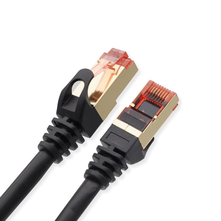 Cablesson Ethernet Cable Cat7 LAN Network RJ45 Cable - Black - hdmicouk