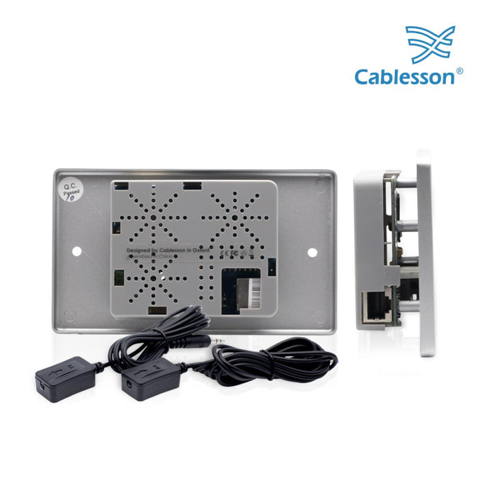 Cablesson HDelity HDBaseT 70m Extender - (70m) (HDMI + IR) 4Kx2K Ultra HD Over Single Cat5e/Cat6 /Cat7, RS232 with bidirectional IR Control. Support 3D, 1080p, 4k, Deep Colour, UHD, HDR, CEC - hdmicouk