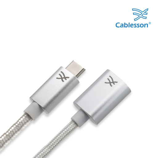 Cablesson Maestro USB C to USB 3.0 A Female Extension Cable 3m - hdmicouk