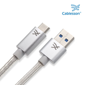 Cablesson Maestro USB C to USB A Cable 6.5ft (2m) (C to A) for Samsung S8, Nintendo Switch, the new MacBook, ChromeBook Pixel, Nexus 5X, Nexus 6P, Nokia N1 Tablet, OnePlus 2 and More USB Type-C Devices.