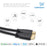 Cablesson Basics 1m (1 Meter) High Speed HDMI Cable with Ethernet -  (Latest 2.0/1.4a Version, 21Gbps) Gold HDMI Cable with ETHERNET Compatibility, PS4, FULL HD, 1080P, 2160p, LCD, 4K - HDMICOUK