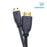 Cablesson Basic High Speed 1M (1 Meter) Mini HDMI to HDMI Cable with Ethernet (Latest 1.4a / 2.0 version) Gold Plated 3D Full HD 1080p 4k2k - use with Panasonic, Sony, JVC, Nikon, FujiFilm Camera and Camcorder Ideal For Connecting HD Devices using the Mini HDMI Connector.