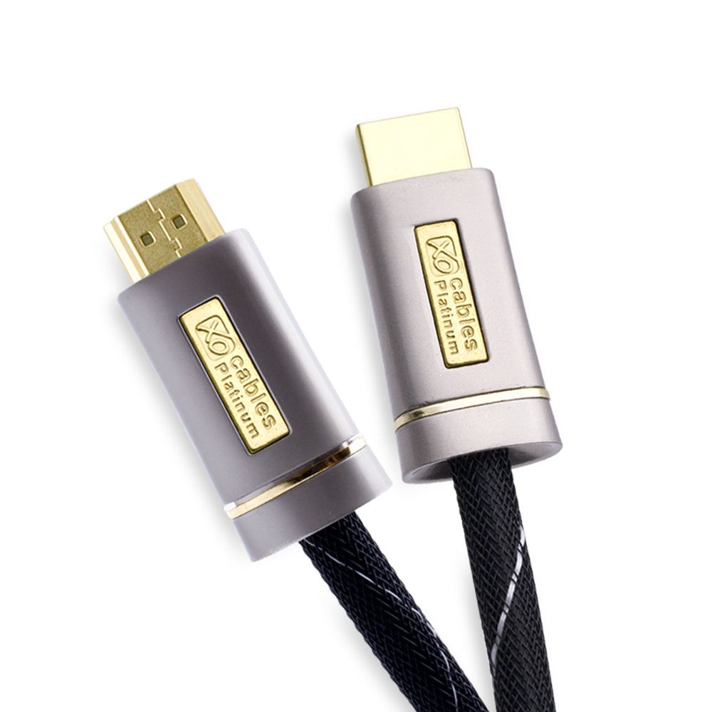XO - PLATINUM HDMI TO HDMI Cable 2.0/1.4 Version High-Speed with ETHERNET - 12M - hdmicouk