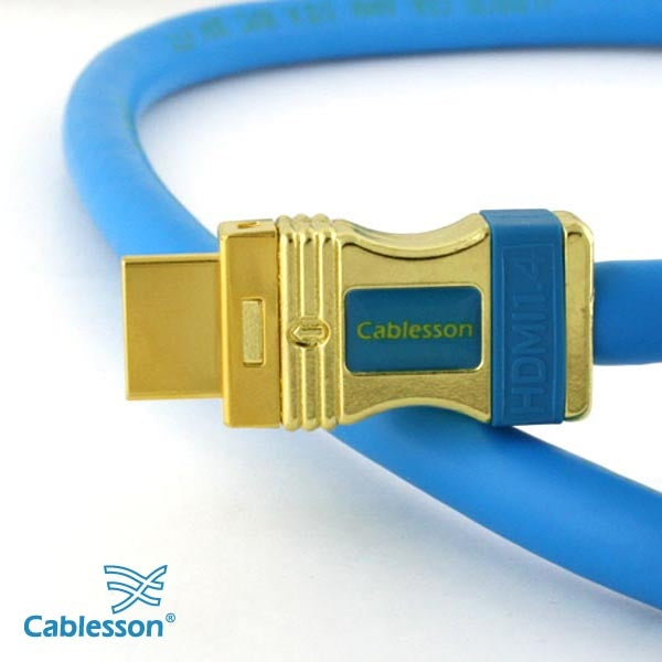 Cablesson® Kaiser **FUTURE PROOF** 2160p 2M / 2 Metre HDMI Cable 1.4 + Ethernet and Audio Return Channel (1.4a Version, 15.2Gbps) WITH 1.3,1.3b,1.3c,1080P, PS3, XBOX 360, DVD, Blu-ray, VIRGIN BOX, FULL HD LCD, PLASMA & LED TV's, 3D TV Lead, SKY HD+