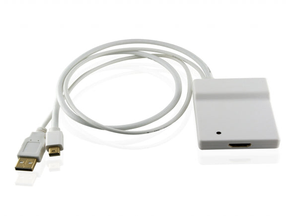 Cablesson - Apple Mini DisplayPort + TOSLINK Digital Audio to HDMI (v1.3b) adapter cable by Cablesson - ( Unibody MacBook - Pro - iMac etc. )