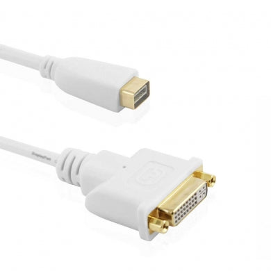 Cablesson? - Mini DVI to DVI Adapter Cable (Apple Mini DVI to DVI-D Adapter Cable) - hdmicouk