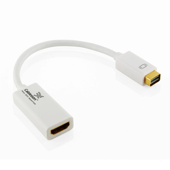 Apple Mini DVI to HDMI Cable Adapter by Cablesson? ULTRA FAST FREE SHIPPING