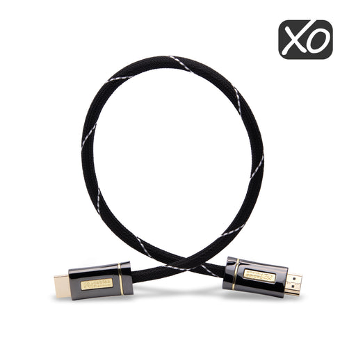XO Platinum 0.5m High Speed HDMI Cable - Black - hdmicouk