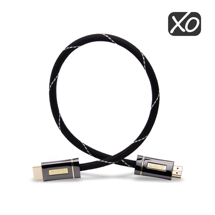 XO Platinum 3m High Speed HDMI Cable - Black - hdmicouk