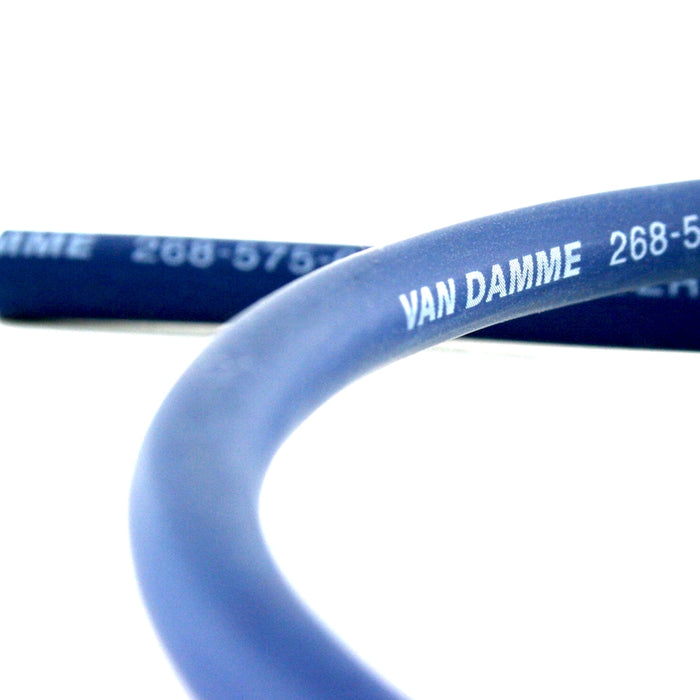 Van Damme Professional Blue Series Studio Grade 2 x 1.5 mm (2 core) Twin-Axial Speaker Cable 268-515-060 7 Metre / 7M - hdmicouk