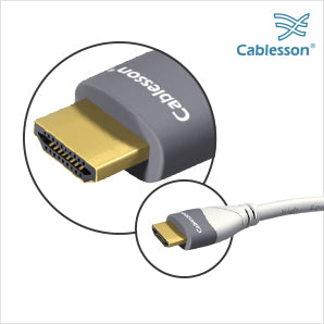 Cablesson MacKuna 2 Pack of HDMI cables - 3m