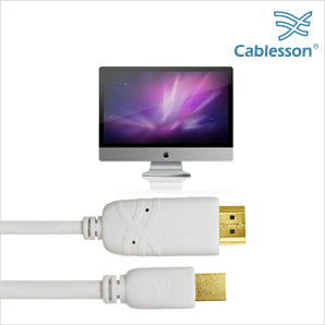 Cablesson 2 Pack Mini DP to HDMI Male Cable - 3m