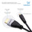 Ivuna Micro HDMI to HDMI Cable 1.5m - Male to Male - 2 Pack