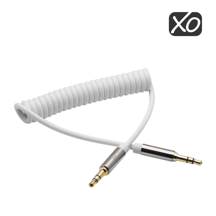XO - 3.5mm Male to Male (with spring cable) - 1-3m Jack Cable