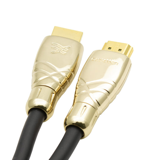 Maestro 0.5m Ultra Advanced High Speed HDMI Cable with Ethernet - Gold