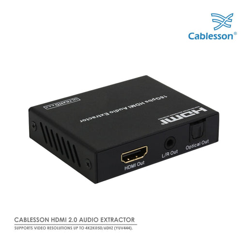 Cablesson HDMI 2.0 Audio Extractor