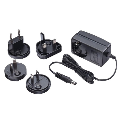 Lindy Multi Country Switching AC Adapter - 12V DC. 1.25A. 5.5mm Outer / 2.1mm Inner DC Jack. Level VI