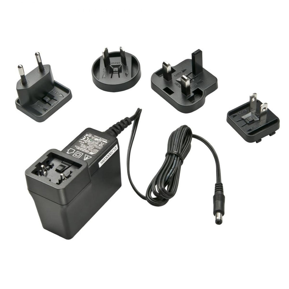 Lindy Multi Country Switching Power Adapter - 12V DC. 3A. 5.5mm Outer / 2.1mm Inner DC Jack. Level VI