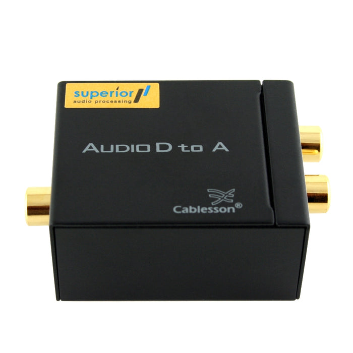 Cablesson SAP-3 (DAC) Digital to Analogue Audio Converter Adapter - hdmicouk