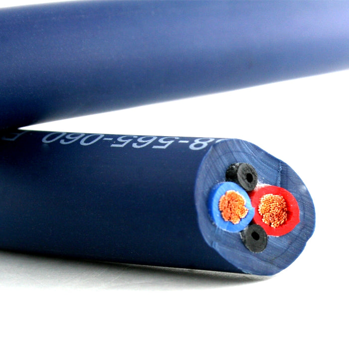 Van Damme Professional Blue Series Studio Grade 2 x 6 mm (2 core) Twin-Axial Speaker Cable 268-565-060 12 Metre / 12M - hdmicouk