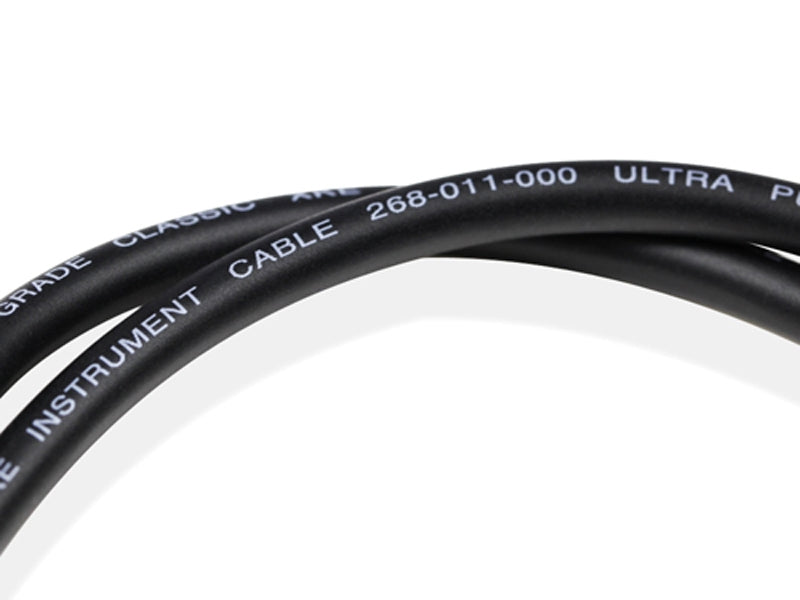 Van Damme Pro Grade Classic XKE Instrument cable 12M - Black - hdmicouk
