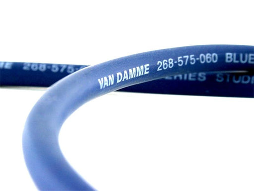 Van Damme Professional Blue Series Studio Grade 2 x 6 mm (2 core) Twin-Axial Speaker Cable 268-565-060 25 Metre / 25M - hdmicouk
