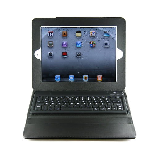Reveware - Bluetooth Keyboard & Cover Case for Apple iPad 2 (w/ Leather Case) Wireless - hdmicouk